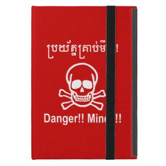 Gefahr!! Bergwerke!! ☠ kambodschanisches iPad Mini Hüllen