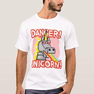 Gefahr! Einhorn! T-Shirt
