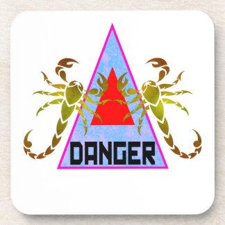 Gefahr Getränkeuntersetzer