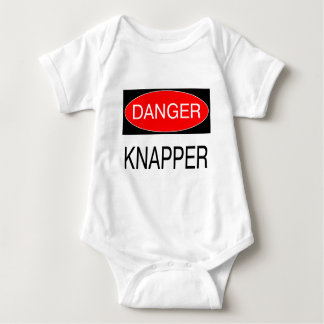 Gefahr - Knapper lustiger Knapping T - T Shirts