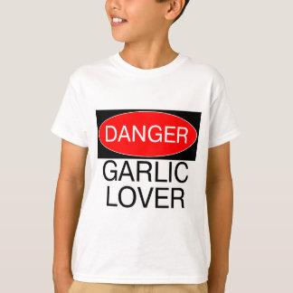 Gefahr - Knoblauch-Liebhaber-lustige T - T-Shirt