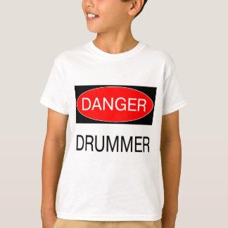 Gefahr - Schlagzeuger-lustige Musiker-T - Shirts