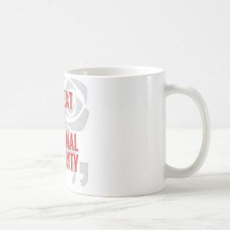 """""""Gefährdung der Staatssicherheit """" Kaffeetasse"""