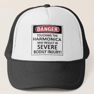 Gefahrenharmonika Truckerkappe