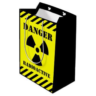 Gefahrenradioaktives Symbol Halloween Süßes sonst Mittlere Geschenktüte