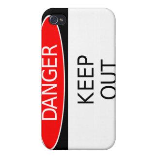 GefahrenSpeck-Kasten iPhone 4/4S Cover