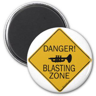 Gefahrenstartende Zone Magnete