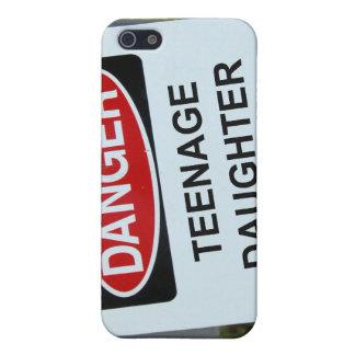 GefahrenTochter-Zeichen iPhone 5 Etui