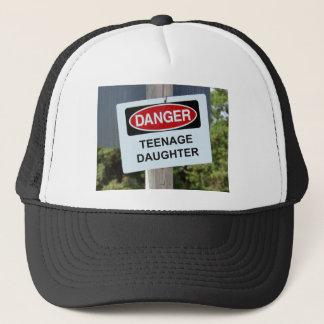GefahrenTochter-Zeichen Truckerkappe