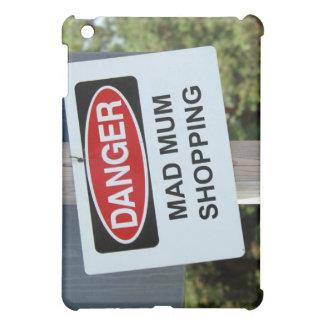 Gefahrenwütendes Mama-Einkaufszeichen iPad Mini Hülle