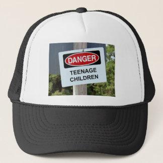 Gefahrenzeichen Jugend Truckerkappe