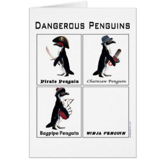gefährliche Pinguine Karte