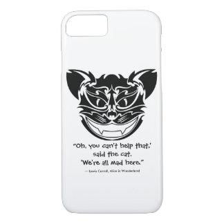 Gefährliches Lächeln (die Cheshire-Katze) iPhone 8/7 Hülle