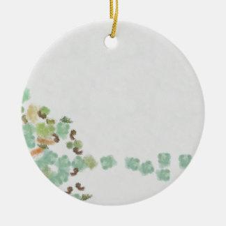 Gefallener Baum abstrakt Keramik Ornament