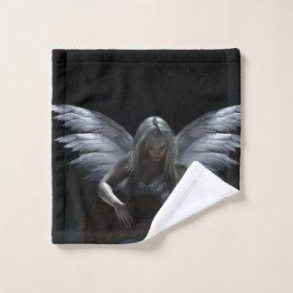Gefallener Engel - dunkle Gitarre Waschlappen