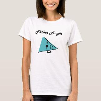 Gefallener Winkel-/Engels-Wortspiel-T - Shirt