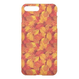 Gefallenes nasses Blätter. Herbstlicher iPhone 8 Plus/7 Plus Hülle