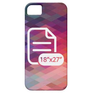 Gefaltetes Larges Piktogramm iPhone 5 Hüllen