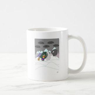 Gefangen im Blizzard Kaffeetasse