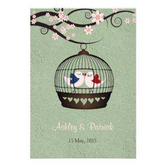 Gefangene der Liebe-Empfangs-Hochzeits-Einladung