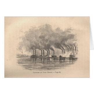 Gefangennahme des Forts Henry Karte