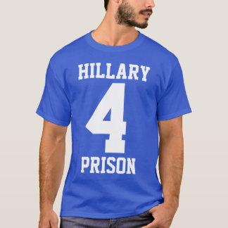 """""""GEFÄNGNIS HILLARY 4"""" (doppelseitig) T-Shirt"""