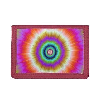 Gefärbte Krawatte in der violetten roten und