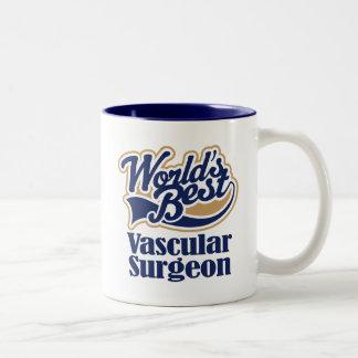 Gefäßchirurg-Geschenk Zweifarbige Tasse