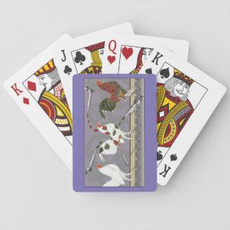 Geflügel-Maler Spielkarten