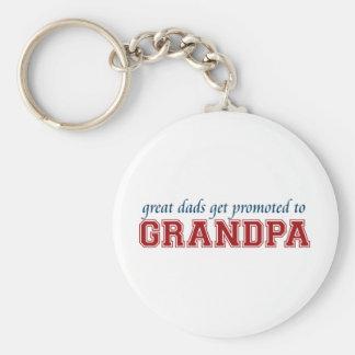 Gefördert zum Großvater Schlüsselanhänger