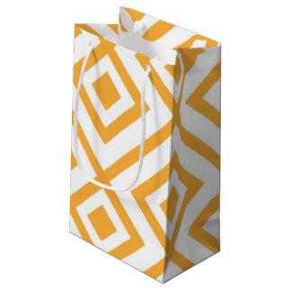 Geformtes geometrisches Muster der Raute Kleine Geschenktüte
