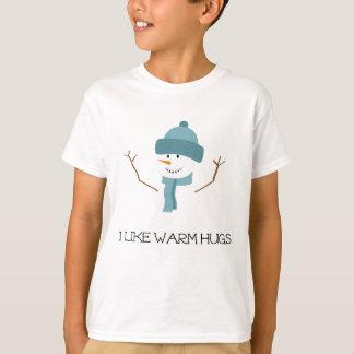 Gefroren - ich mag warme Umarmungen T-Shirt