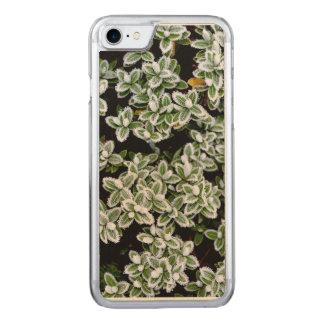 Gefrorene Winter-Pflanzen Carved iPhone 8/7 Hülle