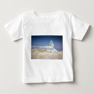 Gefrorener Leuchtturm Baby T-shirt