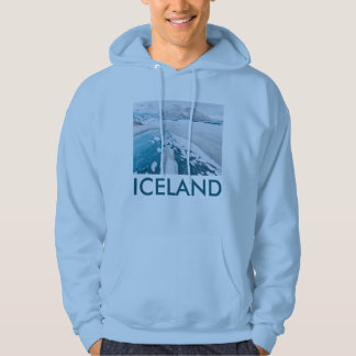 Gefrorenes Gletschereis, Island Hoodie