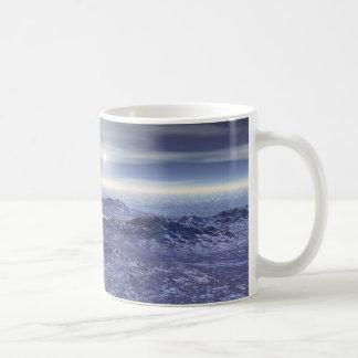 Gefrorenes Meer von Neptun Kaffeetasse