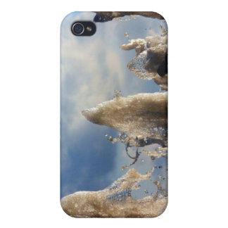 Gefrorenes Wasser-Spritzen iPhone 4/4S Case