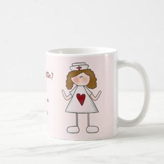 Gefühl besser? Danken Sie einer Krankenschwester Kaffeetassen