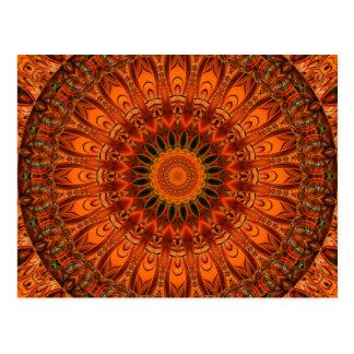 Gefühl der Mandala I gut durch Tutti Postkarte