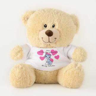 Gefühls-Blau ohne Sie Valentine-Bär Teddybär