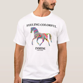 Gefühls-buntes Innere T-Shirt