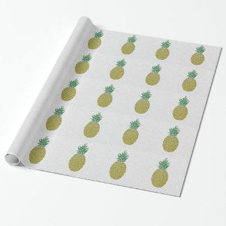 Gefühls-fruchtiges Ananas-Verpackungs-Papier Geschenkpapier