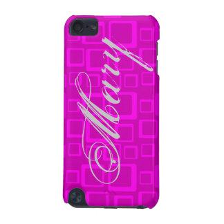 Gefühls-Sechziger-Rosa auf rosa iPod Touch 5G Hülle