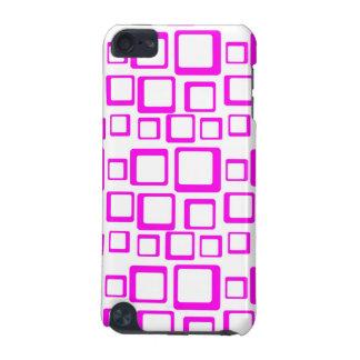 Gefühls-Sechziger-Rosa auf weißem iPod-Kasten iPod Touch 5G Hülle
