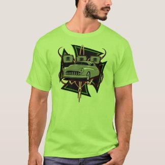 Geführter Schlitten mit Malteserkreuze T-Shirt