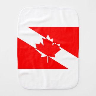 Gefülltes weißes Tauchen Kanada Spucktuch