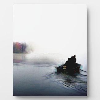 Gegangene Fischerei Fotoplatte