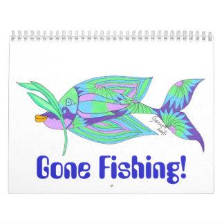 Gegangene Fischerei! Kalender