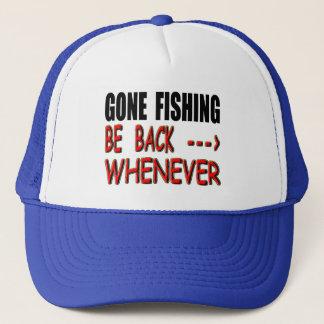 Gegangene Fischerei Truckerkappe