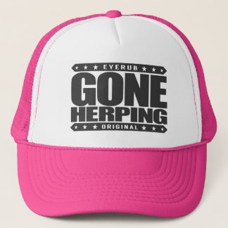 GEGANGENE HERPING - Ich suche nach Amphibien u. Truckerkappe